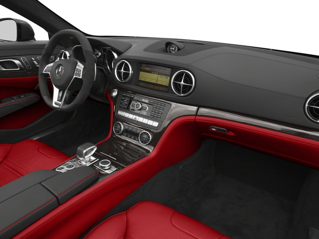 2016 Mercedes-Benz SL Prices and Values Roadster 2D SL63 AMG V8 Turbo passenger's dashboard
