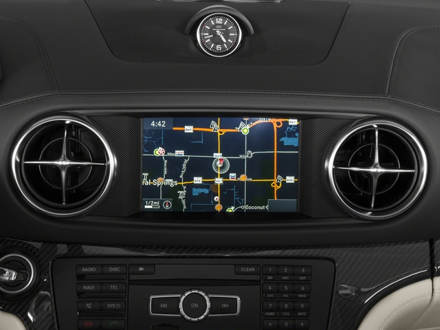 2016 Mercedes-Benz SL Prices and Values 2 Door Roadster navigation system