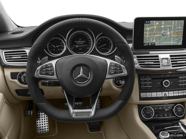 2016 Mercedes-Benz CLS Prices and Values Sedan 4D CLS63 AMG S AWD V8 driver's dashboard