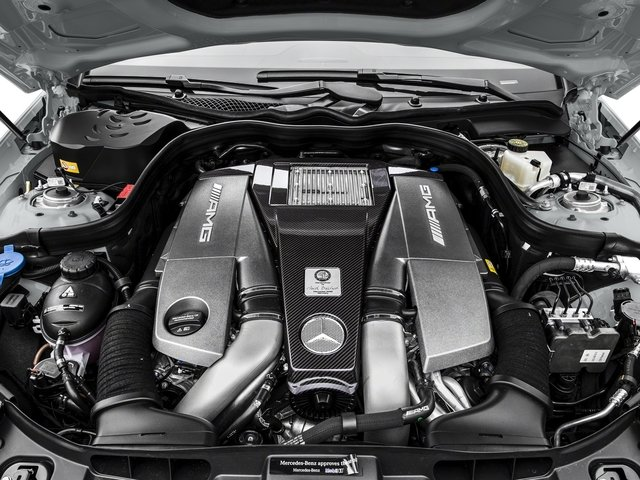 2016 Mercedes-Benz CLS Pictures CLS Sedan 4D CLS63 AMG S AWD V8 photos engine