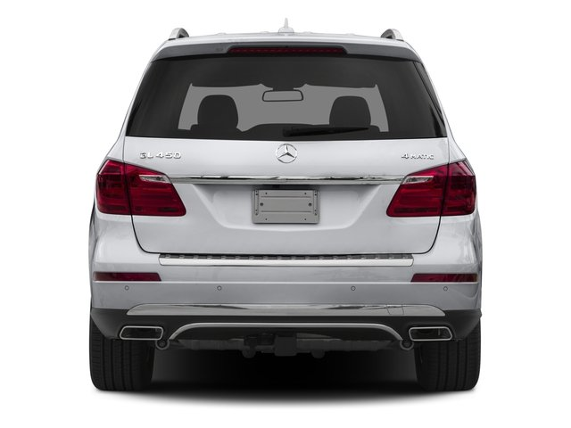 2016 Mercedes-Benz GL Prices and Values Utility 4D GL450 4WD V6 rear view