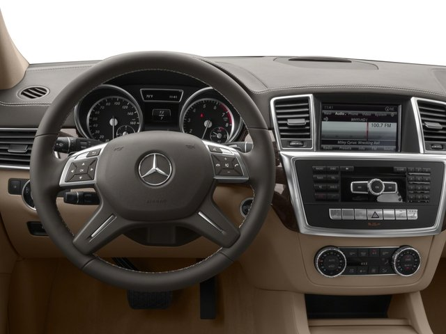 2016 Mercedes-Benz GL Prices and Values Utility 4D GL450 4WD V6 driver's dashboard