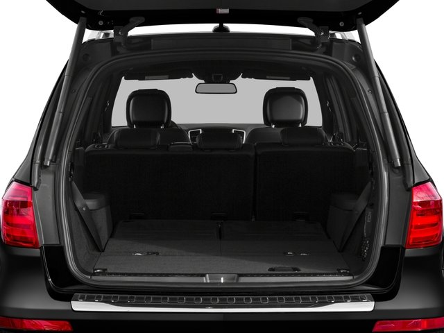 2016 Mercedes-Benz GL Prices and Values Utility 4D GL550 4WD V8 open trunk