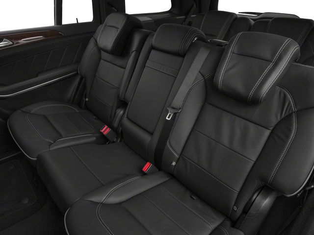 2016 Mercedes-Benz GL Prices and Values Utility 4D GL550 4WD V8 backseat interior