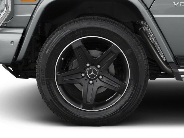 2016 Mercedes-Benz G-Class Pictures G-Class 4 Door Utility 4Matic photos wheel