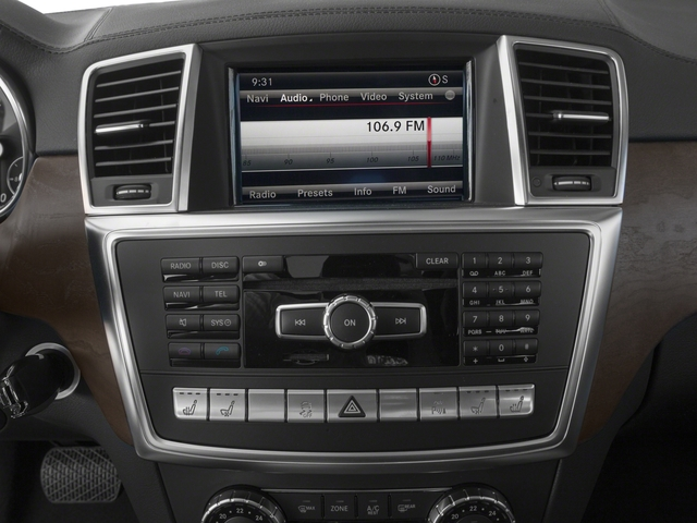 2016 Mercedes-Benz GL Prices and Values Utility 4D GL350 BlueTEC 4WD V6 stereo system