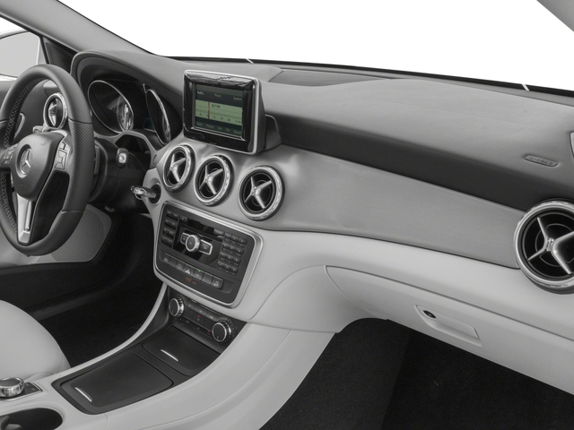 2016 Mercedes-Benz GLA Prices and Values Utility 4D GLA250 AWD I4 Turbo passenger's dashboard