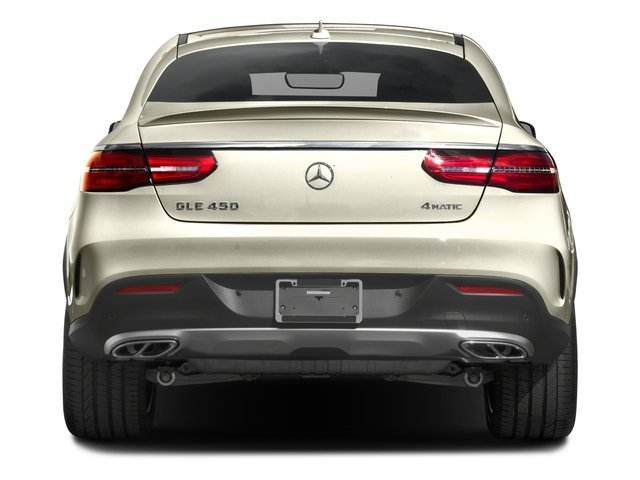 2016 Mercedes-Benz GLE Prices and Values Utility 4D GLE450 Sport Coupe AWD V6 rear view