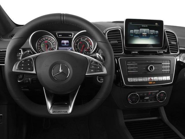 2016 Mercedes-Benz GLE Prices and Values Utility 4D GLE63 AMG S Sport Cpe AWD driver's dashboard