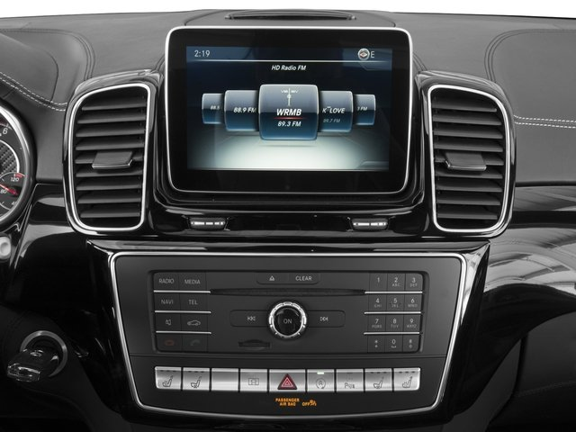 2016 Mercedes-Benz GLE Prices and Values Utility 4D GLE63 AMG S Sport Cpe AWD stereo system