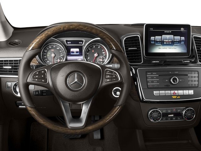 2016 Mercedes-Benz GLE Pictures GLE Utility 4D GLE350 AWD V6 photos driver's dashboard