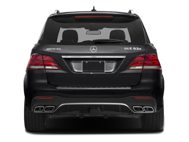 2016 Mercedes-Benz GLE Prices and Values Utility 4D GLE63 AMG S AWD V8 rear view