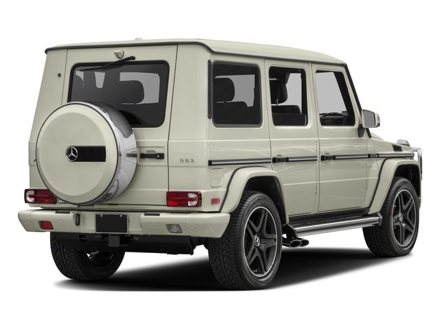 2016 Mercedes-Benz G-Class Prices and Values 4 Door Utility 4Matic side rear view