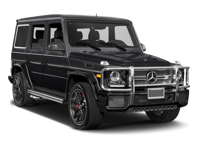2016 Mercedes-Benz G-Class Prices and Values 4 Door Utility 4Matic side front view