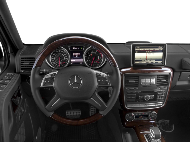 2016 Mercedes-Benz G-Class Prices and Values 4 Door Utility 4Matic driver's dashboard