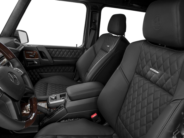 2016 Mercedes-Benz G-Class Prices and Values 4 Door Utility 4Matic front seat interior
