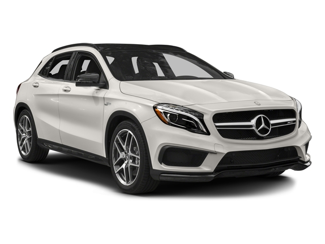 2016 Mercedes-Benz GLA Prices and Values Utility 4D GLA45 AMG AWD I4 Turbo side front view