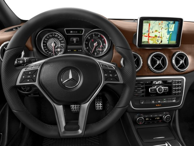 2016 Mercedes-Benz GLA Prices and Values Utility 4D GLA45 AMG AWD I4 Turbo driver's dashboard