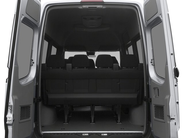 2016 Mercedes-Benz Sprinter Passenger Vans Prices and Values Passenger Van High Roof open trunk