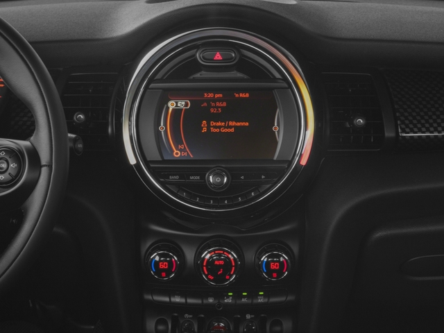 2016 MINI Cooper Hardtop Prices and Values Wagon 2D S I4 Turbo stereo system