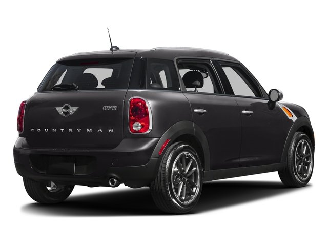 2016 MINI Cooper Countryman Prices and Values Wagon 4D Countryman S I4 Turbo side rear view