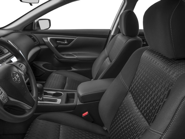 2016 Nissan Altima Prices and Values Sedan 4D I4 front seat interior