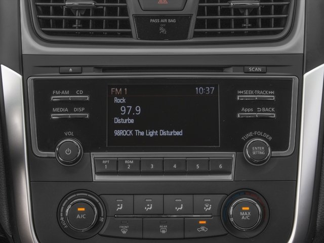 2016 Nissan Altima Prices and Values Sedan 4D I4 stereo system