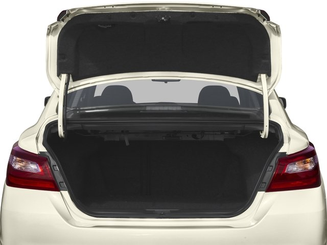 2016 Nissan Altima Prices and Values Sedan 4D I4 open trunk