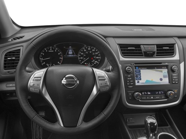 2016 Nissan Altima Prices and Values Sedan 4D SL V6 driver's dashboard