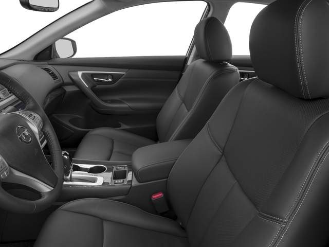 2016 Nissan Altima Prices and Values Sedan 4D SL V6 front seat interior