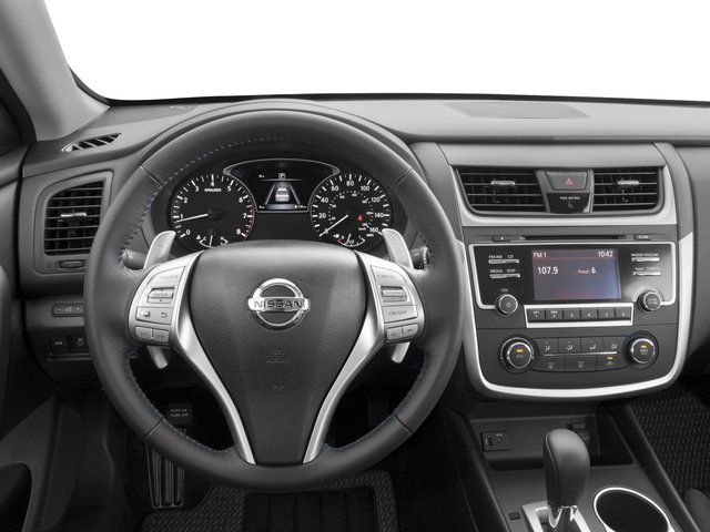 2016 Nissan Altima Prices and Values Sedan 4D SR I4 driver's dashboard