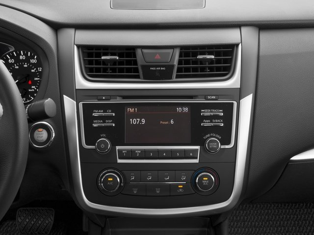 2016 Nissan Altima Prices and Values Sedan 4D SR I4 stereo system