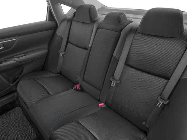 2016 Nissan Altima Prices and Values Sedan 4D SR I4 backseat interior