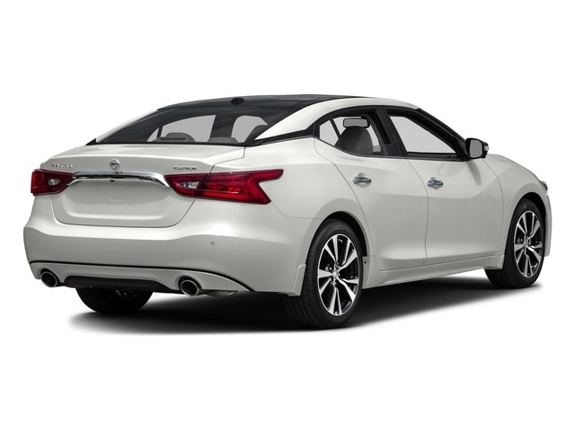 2016 Nissan Maxima Prices and Values Sedan 4D Platinum V6 side rear view