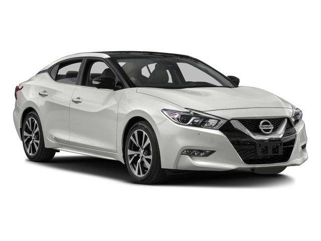 2016 Nissan Maxima Prices and Values Sedan 4D Platinum V6 side front view
