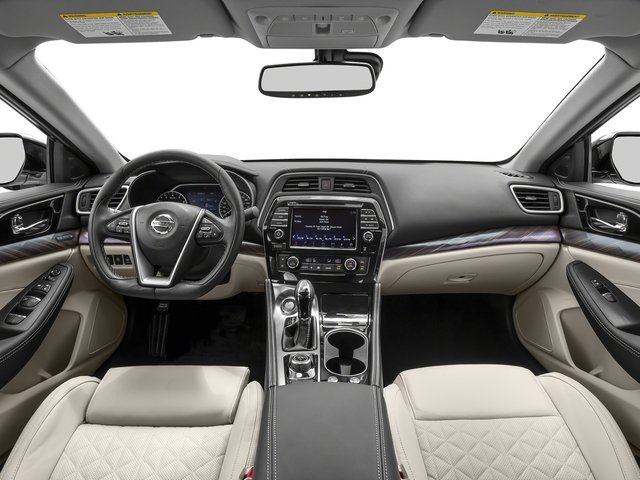 2016 Nissan Maxima Prices and Values Sedan 4D Platinum V6 full dashboard