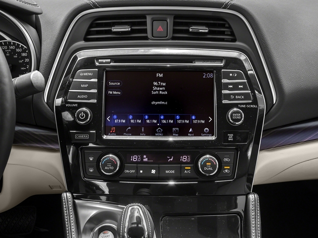 2016 Nissan Maxima Prices and Values Sedan 4D Platinum V6 stereo system