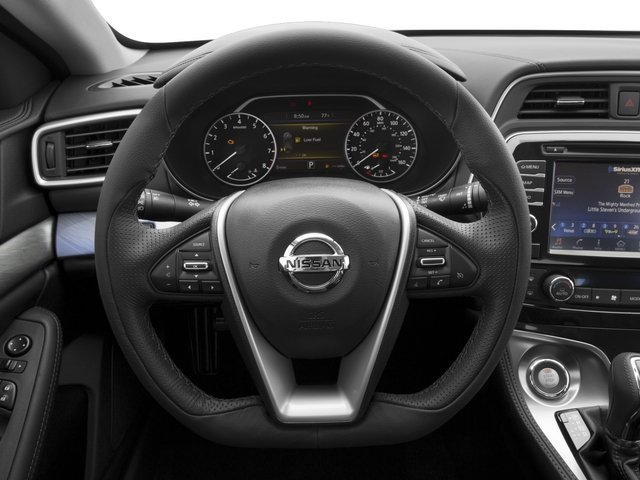 2016 Nissan Maxima Prices and Values Sedan 4D S V6 driver's dashboard