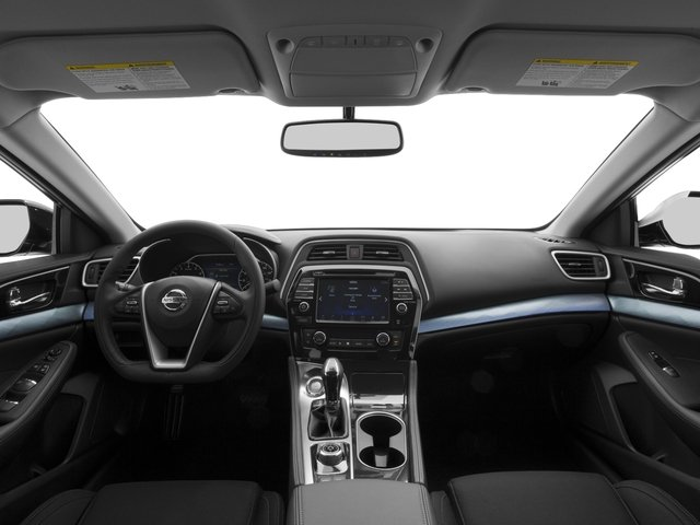 2016 Nissan Maxima Prices and Values Sedan 4D S V6 full dashboard