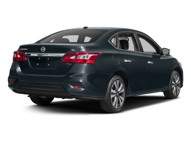 2016 Nissan Sentra Prices and Values Sedan 4D SL I4 side rear view