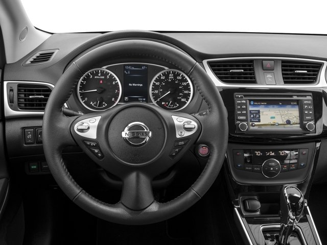 2016 Nissan Sentra Prices and Values Sedan 4D SL I4 driver's dashboard