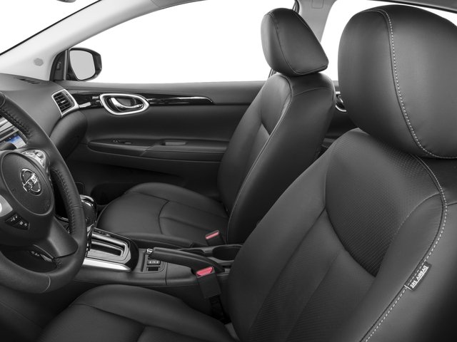 2016 Nissan Sentra Prices and Values Sedan 4D SL I4 front seat interior
