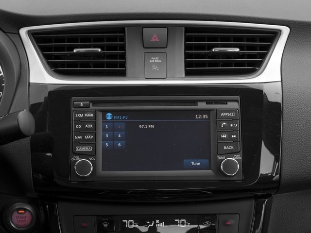 2016 Nissan Sentra Prices and Values Sedan 4D SL I4 stereo system