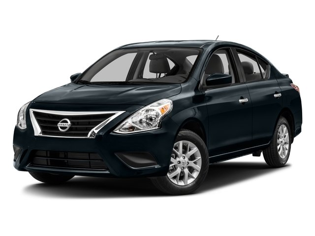2016 Nissan Versa Prices and Values Sedan 4D SV I4 side front view