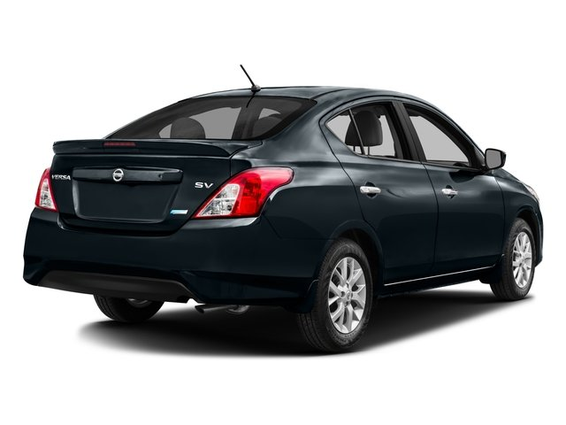 2016 Nissan Versa Prices and Values Sedan 4D SV I4 side rear view
