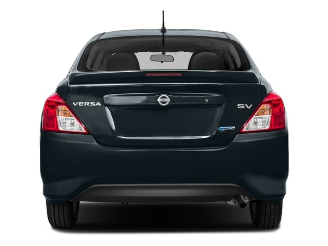2016 Nissan Versa Prices and Values Sedan 4D SV I4 rear view