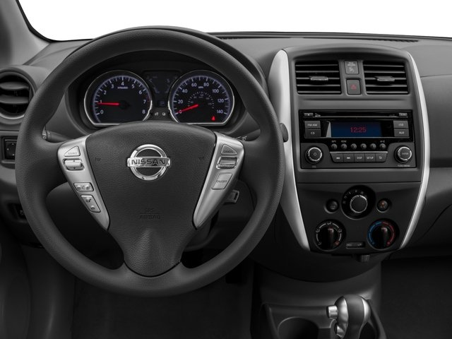 2016 Nissan Versa Prices and Values Sedan 4D SV I4 driver's dashboard