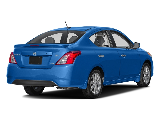 2016 Nissan Versa Prices and Values Sedan 4D SL I4 side rear view