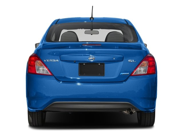2016 Nissan Versa Prices and Values Sedan 4D SL I4 rear view