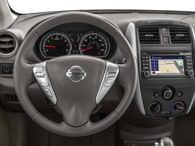 2016 Nissan Versa Prices and Values Sedan 4D SL I4 driver's dashboard